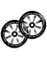 Revolution Twin Core 110mm Wheels  (PAIR) - SILVER