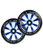 Revolution Twin Core 110mm Wheels  (PAIR) - BLUE