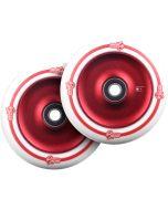 UrbanArtt Classic Wheels - 12mm Std 125mm - RED