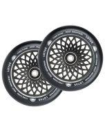ROOT INDUSTRIES Lotus Wheels 110mm x 24mm - BLACK/BLACK