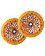 ROOT INDUSTRIES Lotus Radiant Wheels 110mm x 24mm - ORANGE