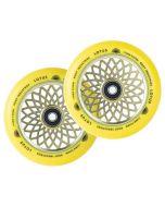 ROOT INDUSTRIES Lotus Radiant Wheels 110mm x 24mm - YELLOW