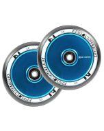 ROOT INDUSTRIES Air Wheels 110mm x 24mm - BLACK/SKY BLUE
