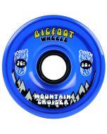 Bigfoot Wheels 76mm 80a Cruiser Translucent Blue
