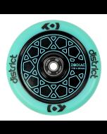 DISTRICT Zodiac Wheel 110mm - BLUE/BLACK