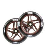 ENVY 120mm PAIR OF wheels - OTR WOOD