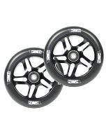 ENVY 120mm PAIR OF wheels - BLACK/BLACK
