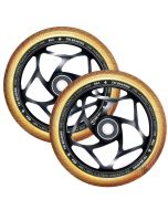 ENVY 120mm Tri Bearing 30mm Wheels - BLACK/GOLD