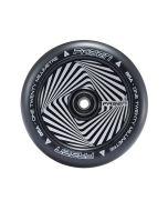 FASEN 120mm Hollow Core Wheel - HYPNO SQUARE - BLACK