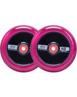 GRIT H2O Trans Pink / Black110mm (Pair)