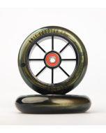 GRIT Wheels 110mm - GOLD / BLACK (Pair)