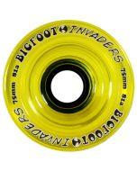 Bigfoot Wheels 75mm 81a Invaders Yellow