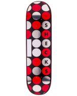 PLAN B Skateboard Deck RYAN SHECKLER DOTS 8.25