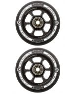 Rogue 110mm Gummy Wheels-Black/Black (Pair)