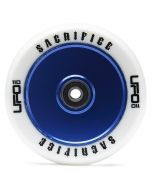 Sacrifice UFO Wheel 110mm - WHITE/BLUE