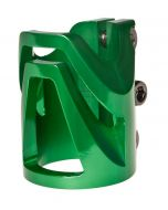 District Triple Light Clamp GREEN - OVERSIZED