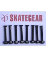 SKATEGEAR Skateboard Hardware 2 inch (set of 8)