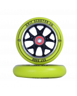 GRIT Wheels 110mm - YELLOW / BLACK  (Pair)