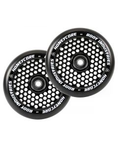 ROOT INDUSTRIES HoneyCore Wheels 110mm x 24mm - BLACK/BLACK