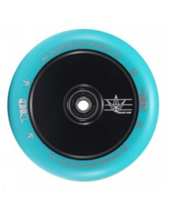 ENVY 110mm Hollow Core Wheel - BLACK/TEAL