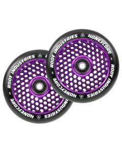 ROOT INDUSTRIES HoneyCore Wheels 110mm x 24mm - BLACK/PURPLE