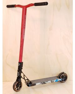 Custom Scooter - GRIT BLACK  / LASER RED