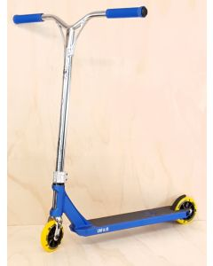Custom Scooter - UNFAIR BLVD V3 BLUE/CHROME
