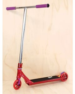 Custom Scooter - CRISP EVOLUTION POLISHED RED