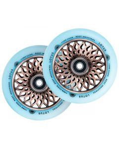 ROOT INDUSTRIES Lotus Isotope Wheels 110mm x 24mm - GLOW/COPPER