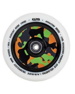 ELITE Air Ride 110mm Wheel - WHITE / CAMO