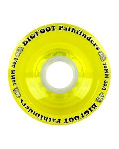 Bigfoot Wheels - 70mm 80a Pathfinders Yellow