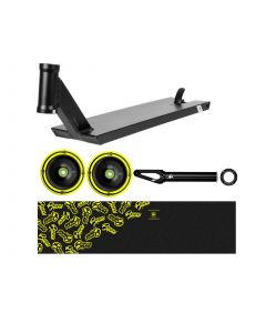 UrbanArtt V4 BONES Deck Kit - BLACK / YELLOW