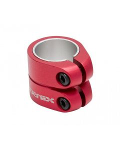 PHOENIX Smooth Double Clamp - RED