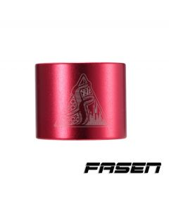 FASEN 2 Bolt Clamp - Red