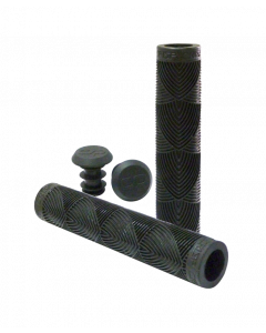 Crisp Handlebar Grips - 160mm - Black
