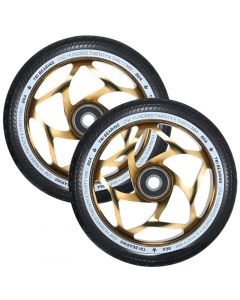 ENVY 120mm Tri Bearing 30mm Wheels - GOLD/BLACK
