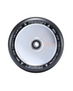 FASEN 120mm Hollow Core Wheel - HYPNO DOT - CHROME
