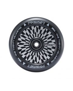 FASEN 120mm Hollow Core Wheel - HYPNO OFFSET - BLACK