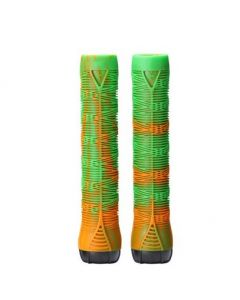ENVY V2 Scooter Grips - GREEN/ORANGE