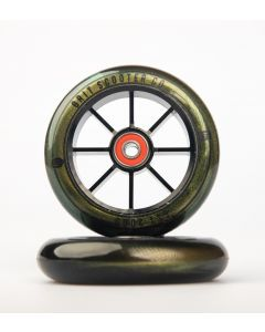 GRIT Wheels 110mm - GOLD / BLACK (Pair)