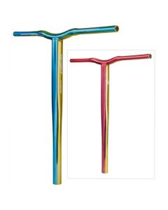 GRIT Battle Bars - 610mm - TRI-COLOUR Blue / Yellow / Red