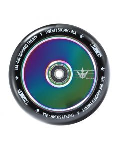 ENVY 120mm  HOLLOW CORE Wheel - OIL SLICK