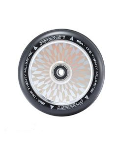 FASEN 120mm Hollow Core Wheel - HYPNO OFFSET - CHROME