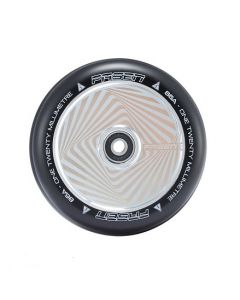 FASEN 120mm Hollow Core Wheel - HYPNO SQUARE - CHROME