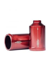 UrbanArtt Cutt Pegs - Chromoly - RED (No Axles)