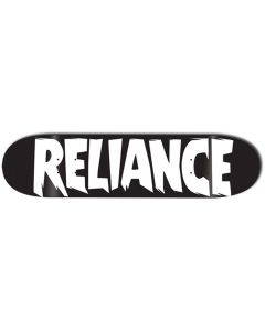 RELIANCE Skateboard Deck LOGO BLACK 8.25