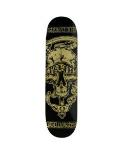 RELIANCE Skateboard Deck FAITH GOLD 8.25