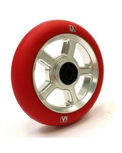 UrbanArtt S5 110mm Wheel - CHROME / RED