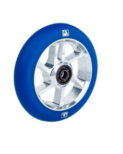 UrbanArtt S7 100mm Wheel - CHROME / BLUE