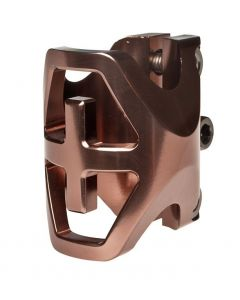 District Triple Light Clamp BRONZE - OVERSIZED